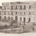 Il palazzo Pedone su piazza Lanza
