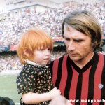 Serie B 1975/76 Foggia Novara 1-0 - gol di Turella - il Foggia è in serie A