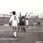 Serie A (1976/77) Foggia Milan - gol di Pirazzini