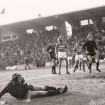 Serie A (1976/77) - Foggia Sampdoria - gol di Pirazzini