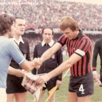 Serie A (1976/77) - Scambio di gagliardetti con Juliano