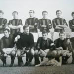 In piedi: Pirazzini, Delle Vedove, Traspedini, Nocera, Gambino, Rolla  accosciati: Capra Moschioni, Rinaldi, Valadè, Maioli 1967-68 (Serie B)