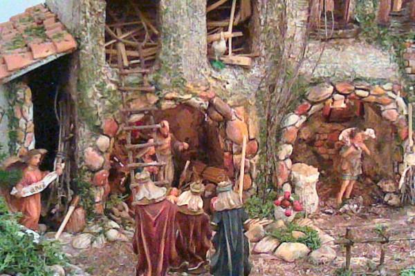 Prima Mostra di presepi presso Palazzo Dogana organizzata dall' Associazione Presepistica Foggiana (dal 7 dicembre 2006 al 7 gennaio 2007)