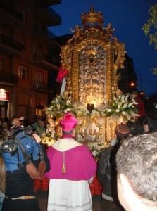 Il Sacro Tavolo in processione