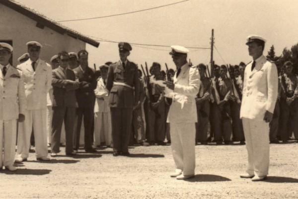 Momento della cerimonia (collezione Pino Del Grosso)