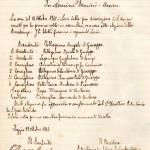 La prima riunione nel 1910