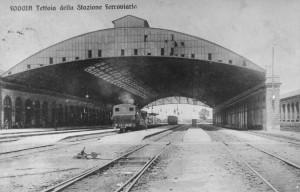 1920 - La stazione vista dal lato nord
