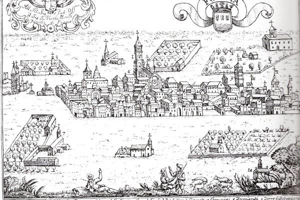 Foggia nel 1703