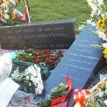 """Nel luogo dove sorgeva il palazzo, il 10 novembre 2009 è stata inaugurata la piazza dedicata alle vittime denominata """"Giardino della memoria"""""""
