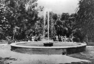 1895 - Fontana del boschetto della Villa