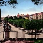 Anni 60 - Panorama dal boschetto della Villa