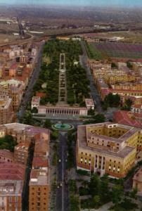Veduta della Villa negli anni 80