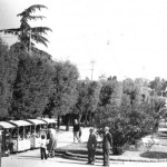 Anni 70 - Il trenino che, girando all'interno della Villa, ha coinvolto più generazioni di foggiani