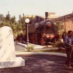 10 maggio 1985 - Inaugurazione del Monumento al Ferroviere nella Villa