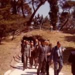10 maggio 1985 - Riapertura delle grotte nel boschetto della Villa