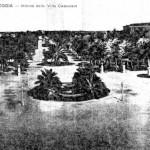 1910 - La Fontana delle quattro Palme distrutta dai bombardamenti