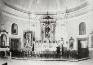 L'interno della chiesa di S.Angelo