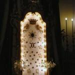 L'Iconavetere esposta nella chiesa di S.Tommaso durante i giorni di festa del Ferragosto