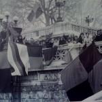 Foggia '73/'74 Tifosi foggiani a Roma