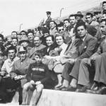 Tifosi allo Zaccheria negli anni 50