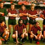 La formazione del 1975/76 che, battendo il Novara per 1-0, conquista la serie A