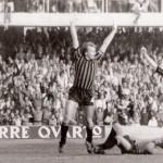 Gol di Pirazzini al Torino '77 '78