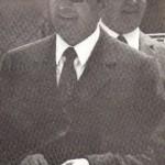 Il Presidente del Foggia comm. Antonio Fesce