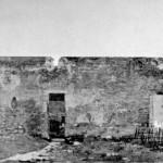 Interno della caserma dopo i bombardamenti