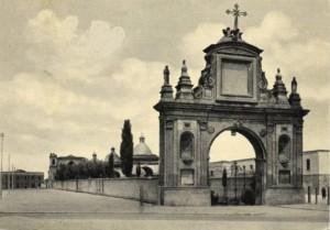 La chiesa ad inizio secolo