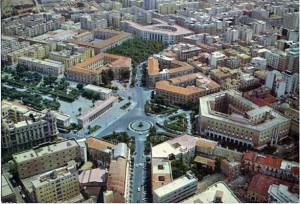 Veduta di piazza Cavour