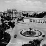 Piazza Cavour nel 1952