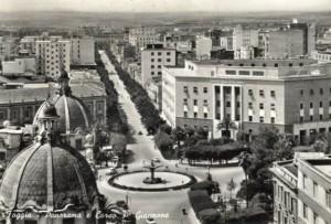 Piazza Cavour e corso Giannone