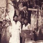 """5 aprile 1953 - Santa Pasqua. Macelleria """"Morsillo Luigi"""" tuttora gestita dal nipote in Piazza Mercato n°2"""