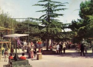 Il parco giochi della Villa Comunale