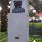 Il busto dei fratelli Biondi