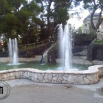 Laghetto con fontane