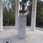 Il tempietto dedicato a Giuseppe Rosati