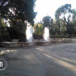 Le fontane del laghetto