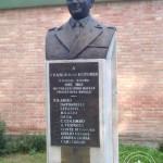 Il busto del gen. Rotundi