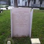 La stele che ricorda Padre Odorico Tempesta