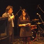Presentazione al teatro Verdi di San Severo allo spettacolo di Toti e Tata 12 dic 2010