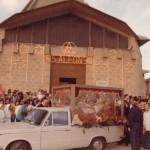 Arrivo delle sacre spoglie del Santo in data 31 maggio 1988