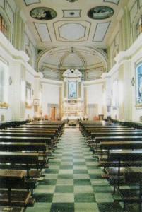 Interno della Chiesa di S.Luigi