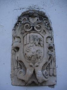 Stemma presente sulla facciata esterna