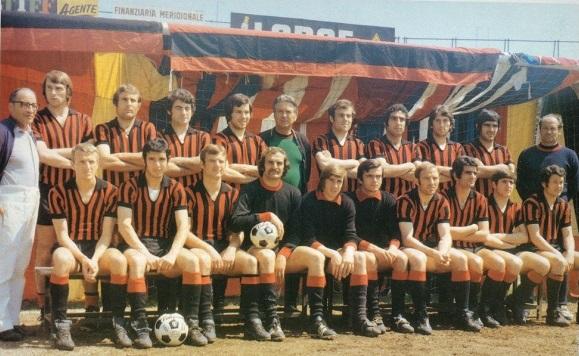 Il Foggia edizione 1970/71