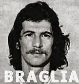 L'attaccante Giorgio Braglia