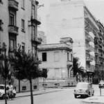 Il villino negli anni 60 poco prima della demolizione