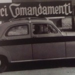 La pubblicità ai film con le auto