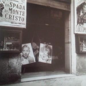 Ingresso Cinema Cicolella anni 50 (foto f.lli Leone)