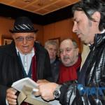 6 geannaio 2016 - Incontro con Renzo Arbore all'Hotel Cicolella